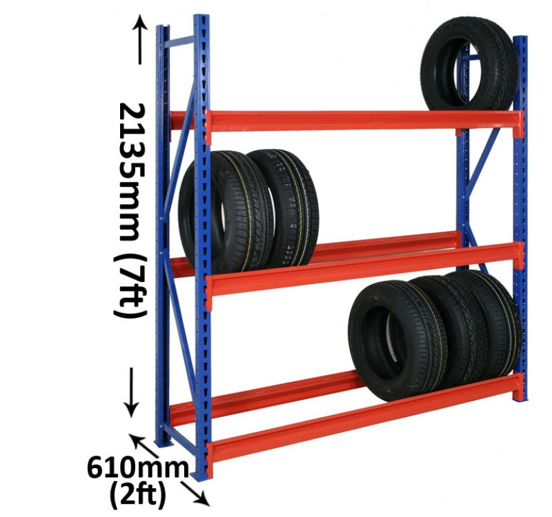 LONGSPAN TYRE STORAGE RACKS