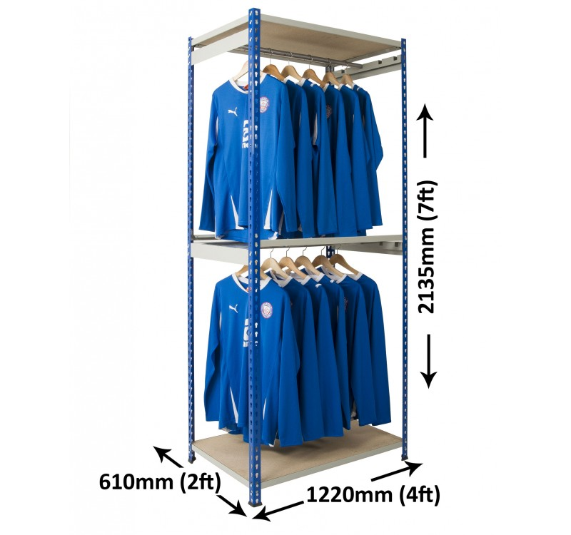 GARMENT SHELVING