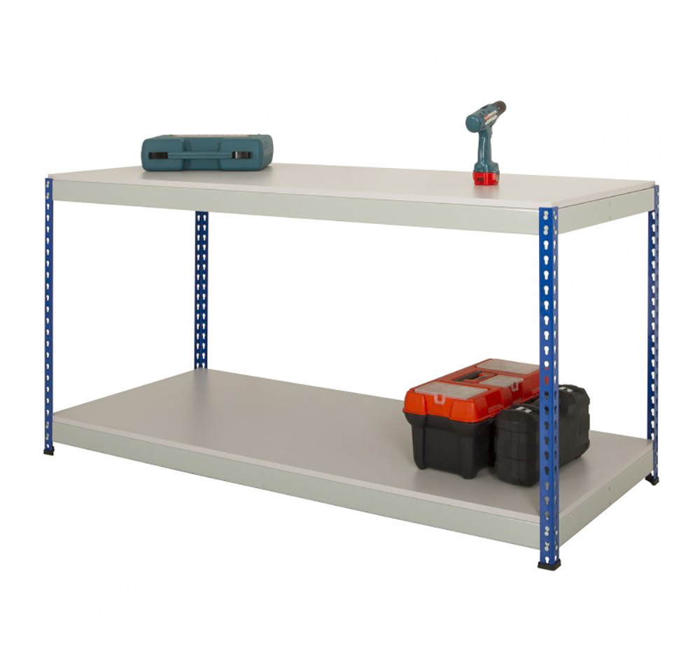 Value Medium Duty Full Undershelf Rivet Workbench