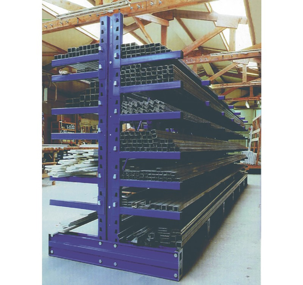 600mm Double Sided Cantilever Racking Extension Bay