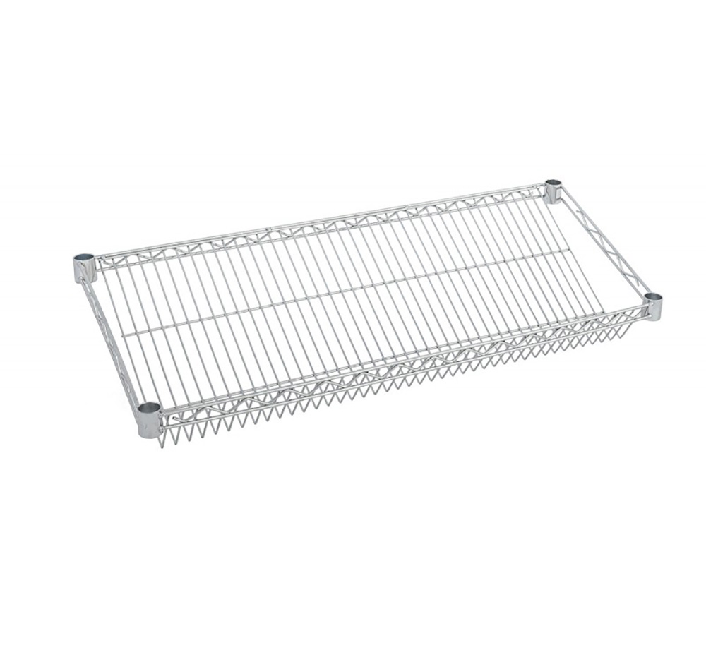 Sloping Shelf for Chrome Wire Shelving