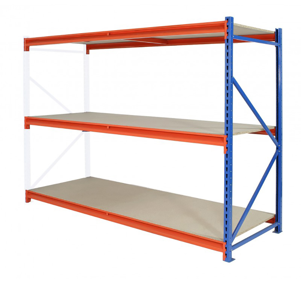 Longspan Shelving Extension Bay 3 Level