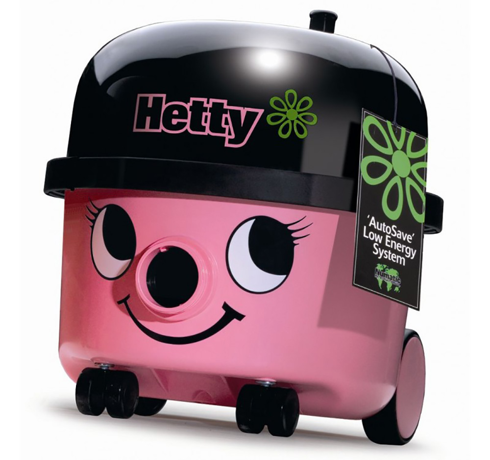 Numatic Pink Hetty Vacuum Cleaner HET-200A