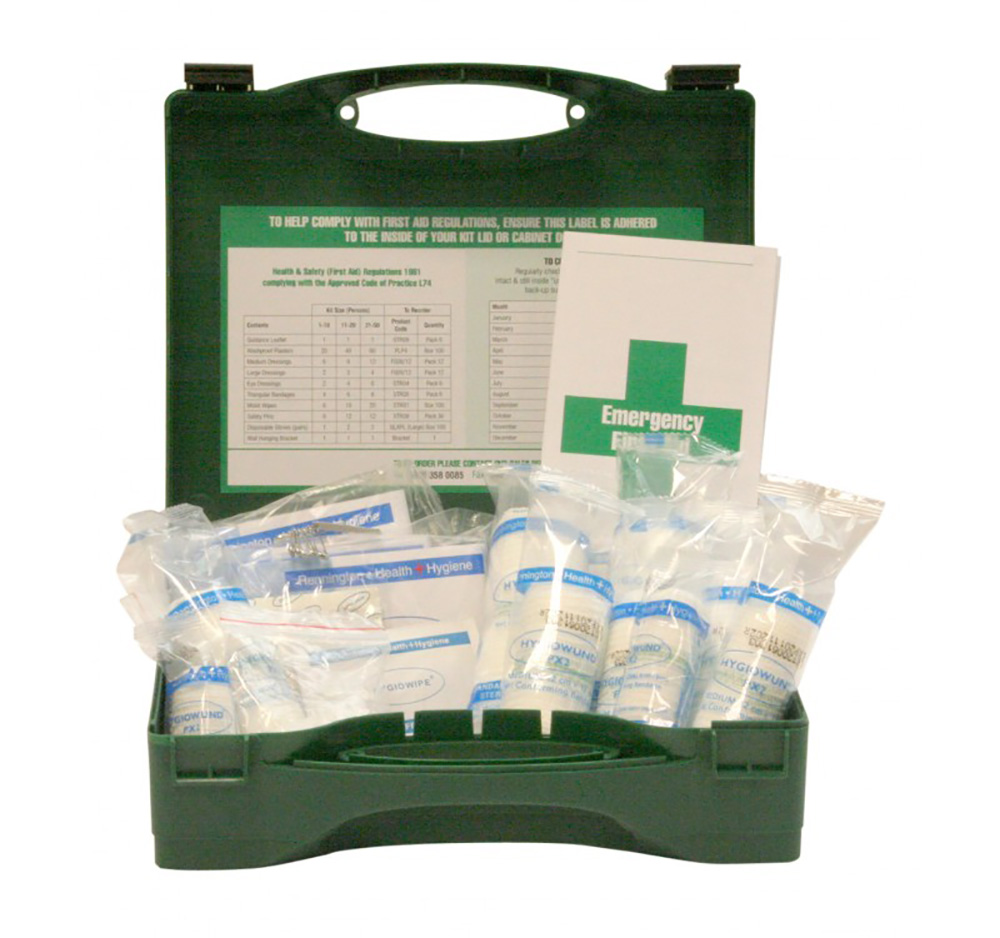 HSE Standard First Aid Kit for 1-10 people