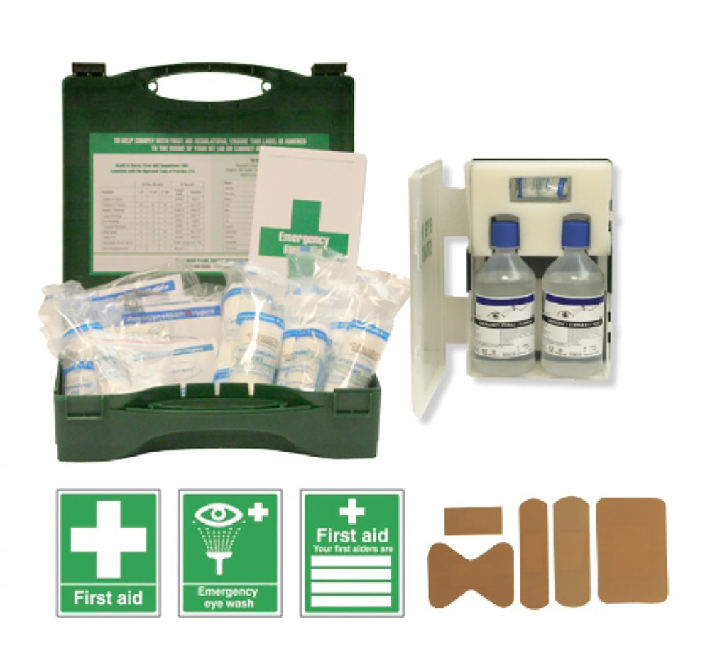 HSE First Aid Starter Kit for 1-20 people