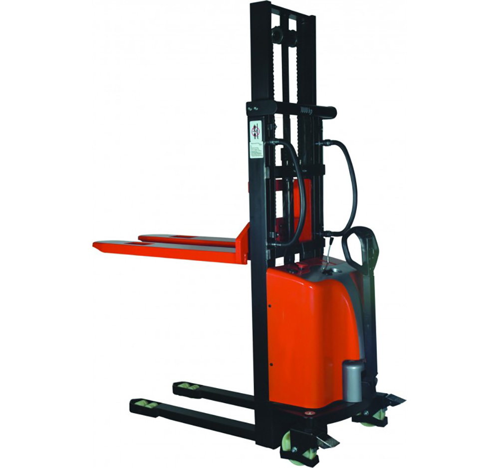 1000kg 1600mm lift Semi Electric Stacker