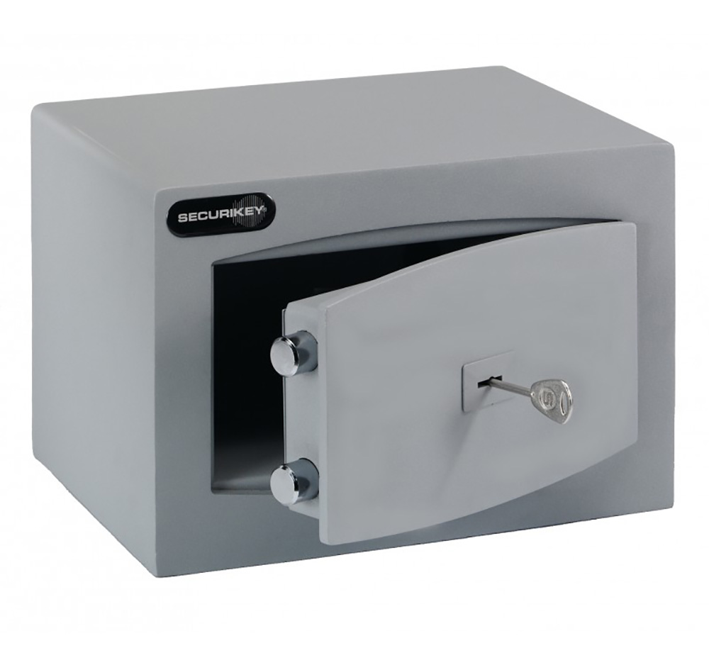 Mini Vault Cash Safe with Key Lock