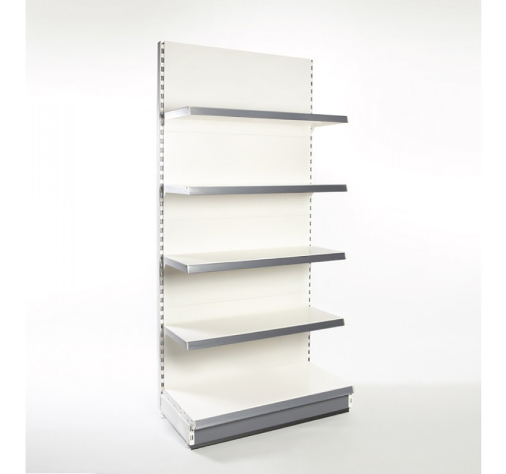 2.2m High Retail Shelving Wall bay with Shelves