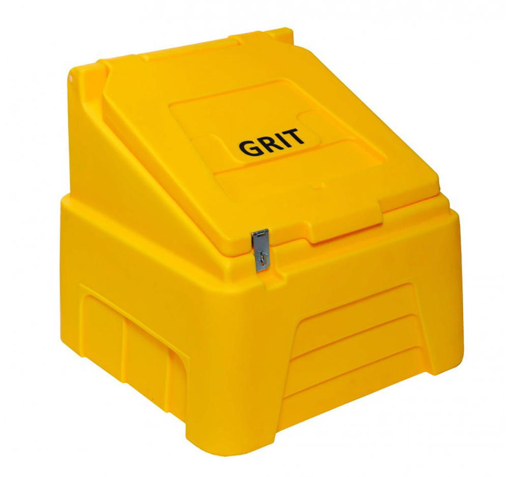 200 Litre 7 cubic feet Lockable Heavy Duty Grit Bin