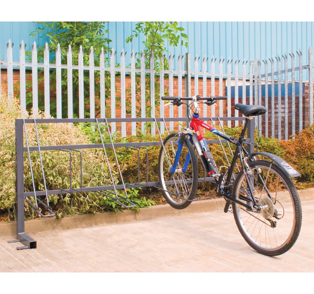 Traditional Bike Rack for 8 Bikes