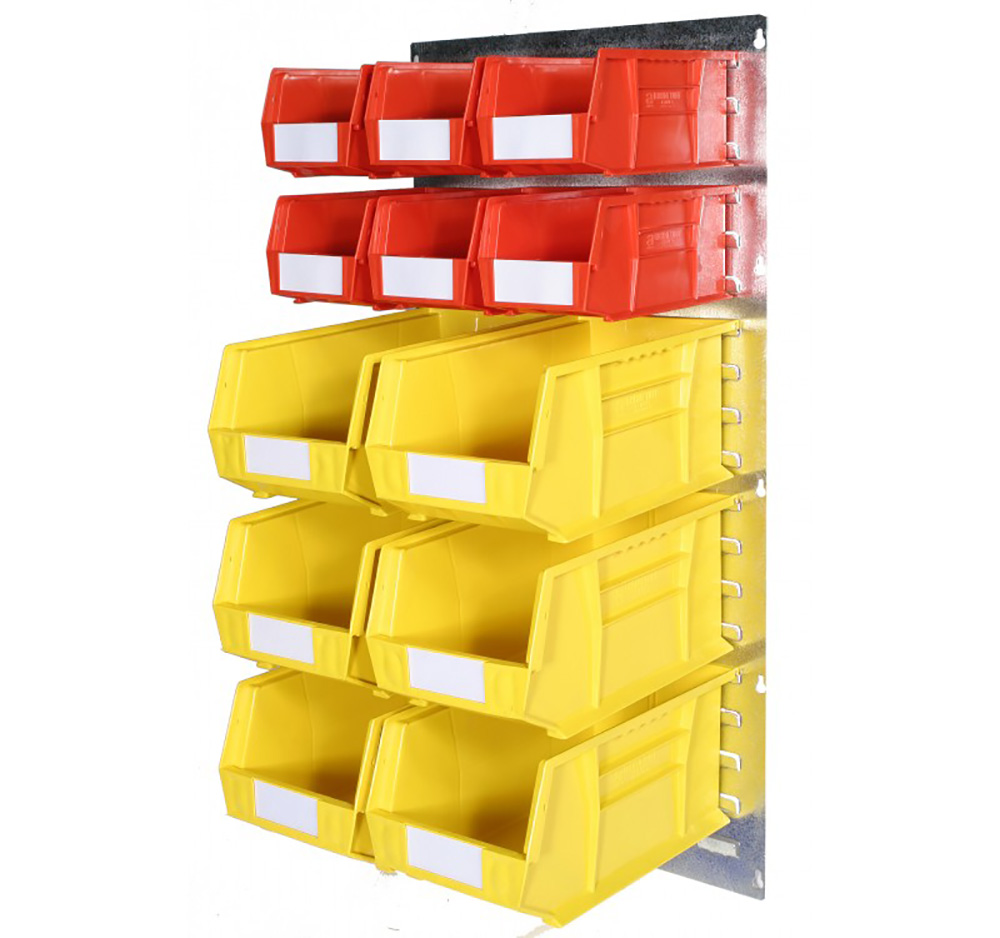 Plastic Storage Bin Wall Kit A