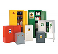 Hazardous Materials Warehouse Cabinets