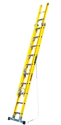 2.6m Fibreglass Double Extension Ladder