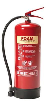9 Litre AFFF Spray Foam Extinguisher