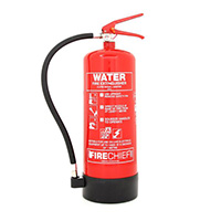 6 Litre Water Extinguisher with additive