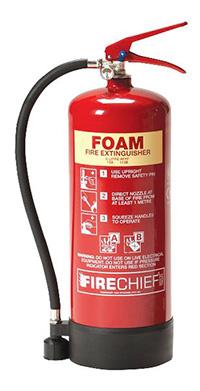 2 Litre AFFF Spray Foam Extinguisher