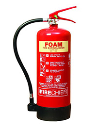 6 Litre AFFF Spray Foam Extinguisher with additive