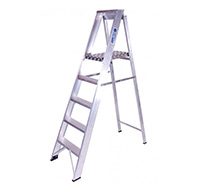 10 Tread Industrial Step Ladder