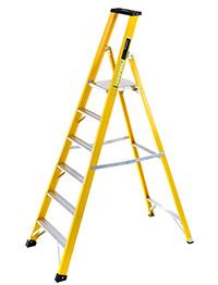 Heavy-Duty Fibreglass Platform Step Ladder  1236
