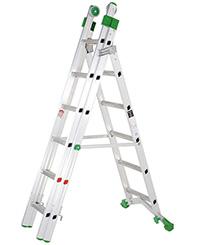 Heavy-Duty Aluminium Combination Ladder  1300