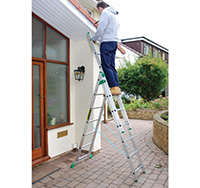 Combination Ladder x 9 Rungs