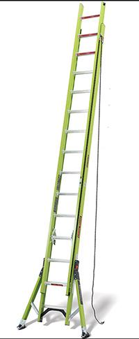 HyperLite SumoStance Hi-Viz GRP Fibreglass Ladder