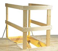 Loft Ladder Balustrade Kit