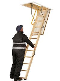 FireFold Loft Ladder
