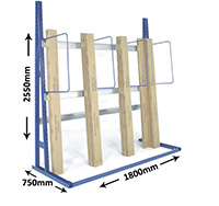 Vertical Racking Starter Bay
