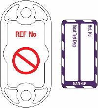 Nanotag Kit Next Test Due - Purple