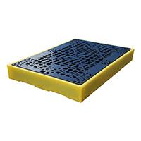 Bund Flooring with 130 Litre Sump - 150 x 1260 x 860mm  H x L x W