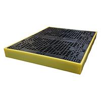 Bund Flooring with 300 Litre Sump - 150 x 1660 x 1260mm  H x L x W