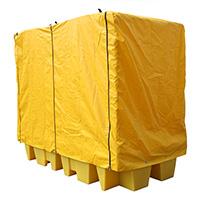 Covered Bund Pallet For 2 X 1000Ltr IBC