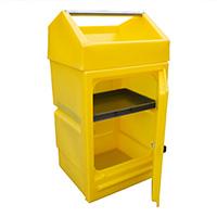 Disp Stand Lock Door/Storage Tray 48Ltr