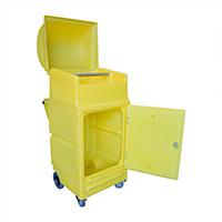 Sml Maintenance Cart W/Wheels 45Ltr Bund