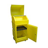 Xl Maintenance Cart W/Wheels 45Ltr Bund