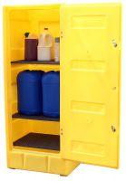 Med Storage Cab Lockable 3 Shelves 70Ltr