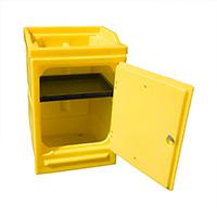 Lockable Work Stand With Tray 48Ltr Bund