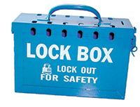 Blue 13 Lock  Lock Box