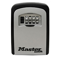 Masterlock Wall Mounted Key Safe 4 Digit Wheel Combination
