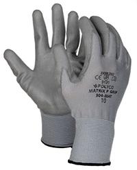 Matrix P Grip Gloves - Size 9  Med  Grey