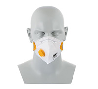 Standard Folding Masks - FFP1  with valve  pk of 10