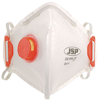 Standard Folding Masks - FFP2  with valve  pk of 10