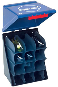Secubox with 12 Compartments