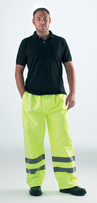 High Visibility Over Trousers - Med