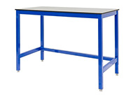 Medium Duty Workbench with 12mm Compact Laminate Top 500 UDL - 1200mm Wide