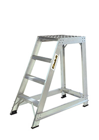Climb It Aluminium Trade Stepladder - 4 Tread