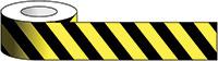 100x33m Black   Yellow chevron