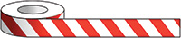 75mm x 33m Red   White Tape