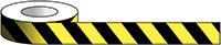 75mm x 33m Yellow   Black Tape